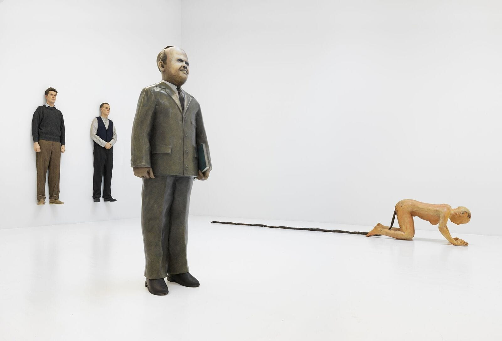 People installation, Jeffrey Deitch